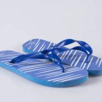 Papuci plaja cu barete de plastic